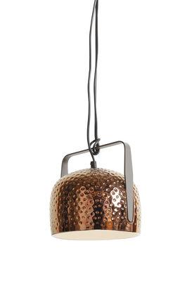 Illuminazione - Lampadari - Sospensione Bag - / da appendere o appoggiare - Ø 21 cm di Karman - Bronzo brillante texture - Ceramica, Metallo