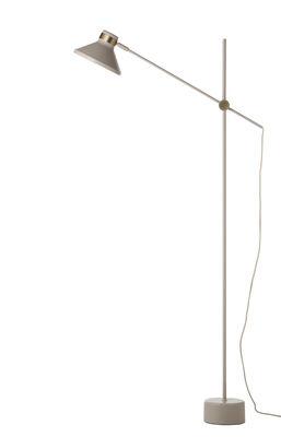 Leuchten - Stehleuchten - Mr Stehleuchte / Metall - H 140 cm - Frandsen - Taupe (matt) - bemaltes Metall