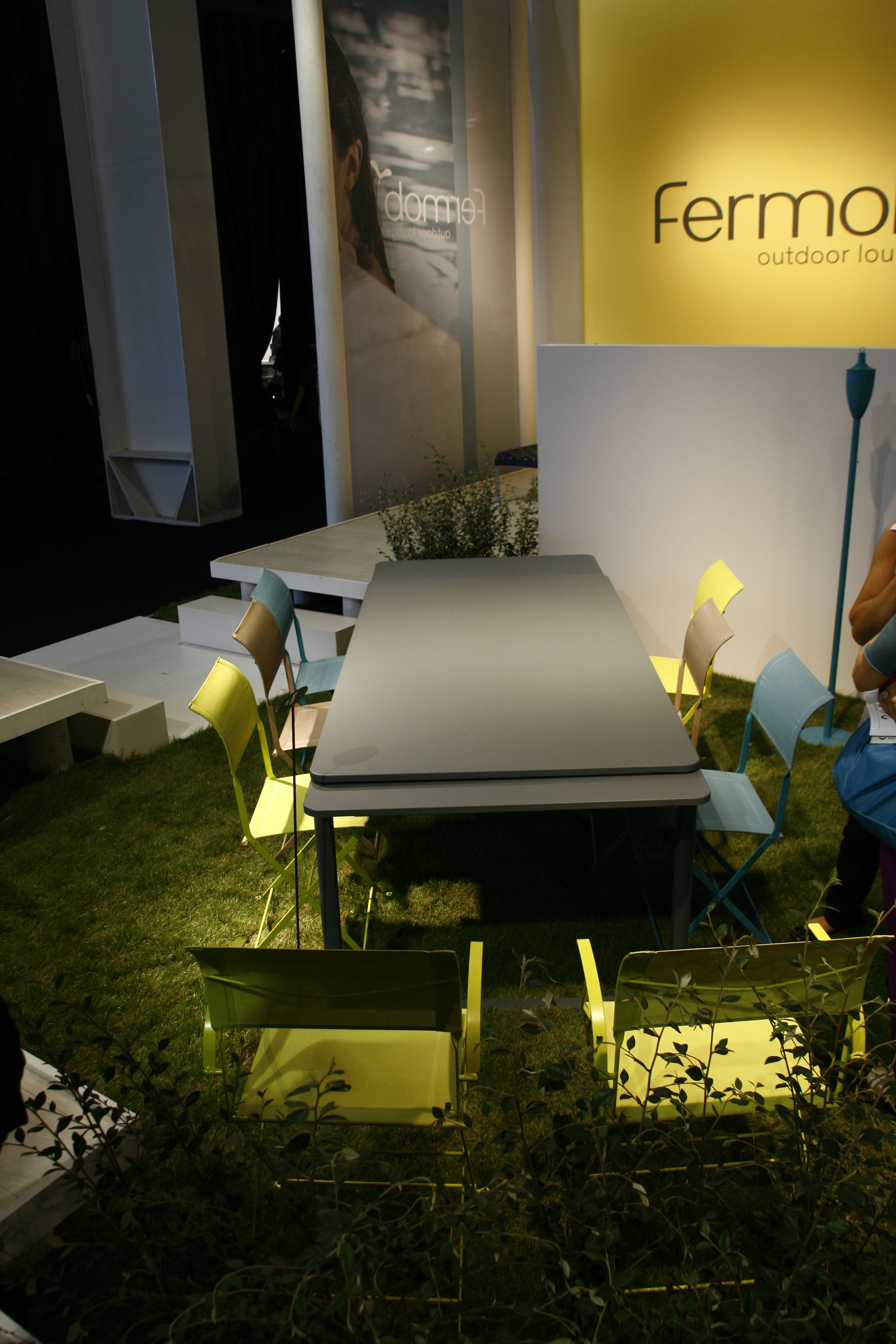 Table à Rallonge Biarritz / L 200 à 300 Cm Lin
