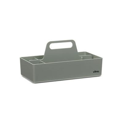 Image of Vaschetta portaoggetti Toolbox - / Scompartimentato - 32 x 16 cm di Vitra - Grigio - Materiale plastico