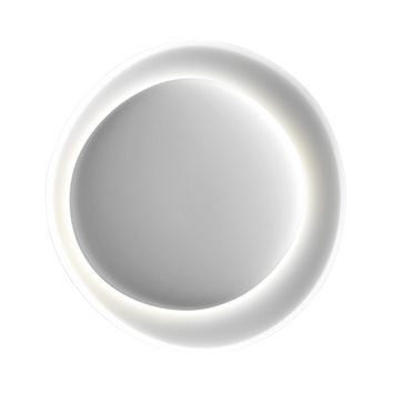 Lighting - Wall Lights - Bahia Mini Wall light - LED - L 55 x H 53 cm by Foscarini - White - Injection moulded polycarbonate