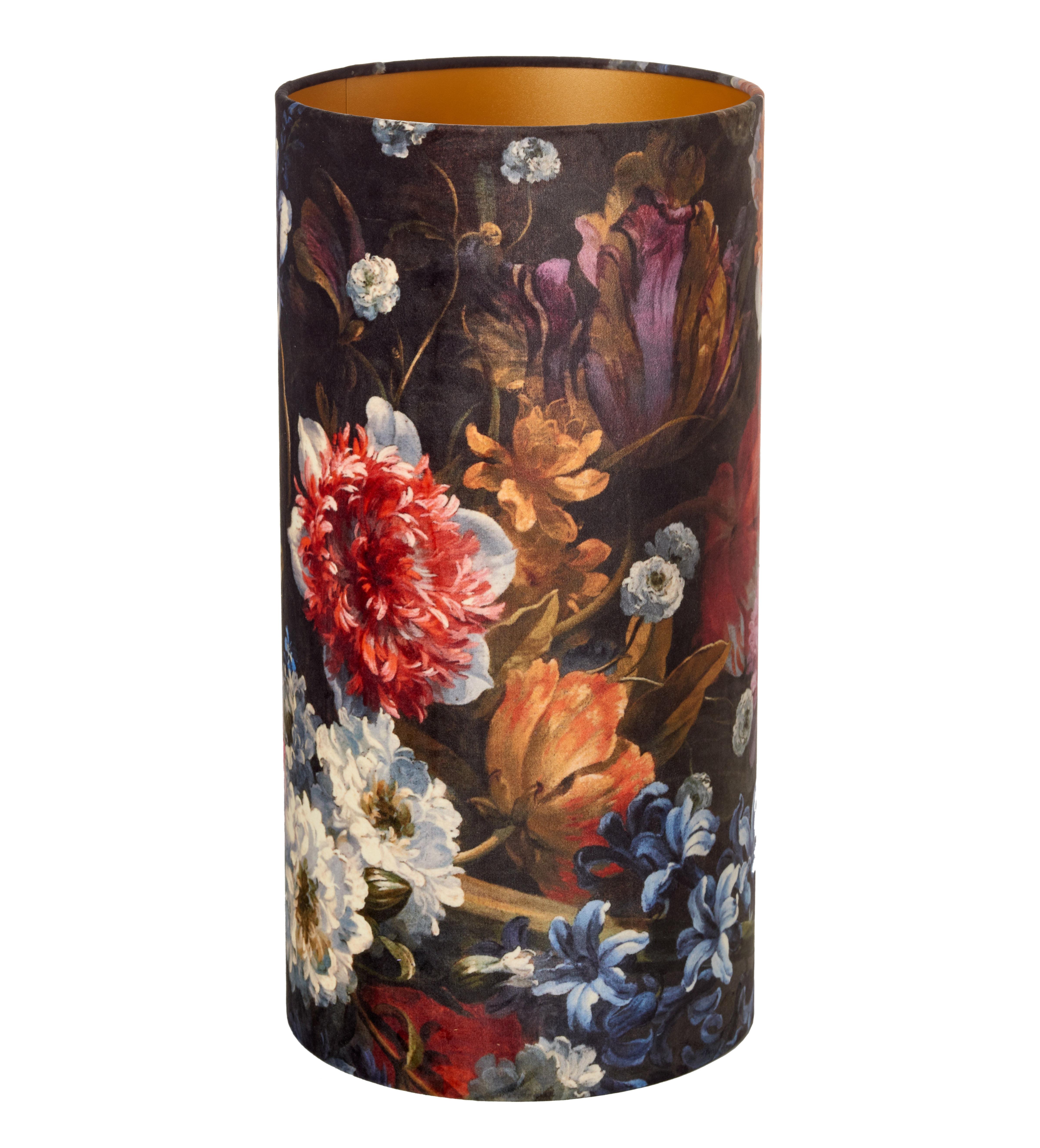 Luminaire - Lampes de table - Abat-jour Ball / Ø 25 x H 50 cm - Pols Potten - Abat-jour / Fleurs - Velours