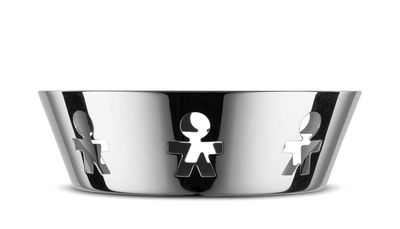 Tableware - Fruit Bowls & Centrepieces - Girotondo Basket by A di Alessi - Mirror polished - Stainless steel
