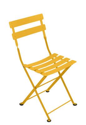 Chaise enfant Tom Pouce / Pliante - Acier - Fermob miel en métal