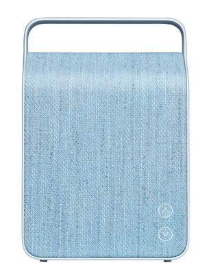 Enceinte Bluetooth Oslo / Sans fil - Tissu - Vifa bleu glacier en tissu