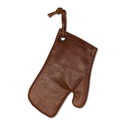 Gant de cuisine / Cuir - Dutchdeluxes marron en cuir
