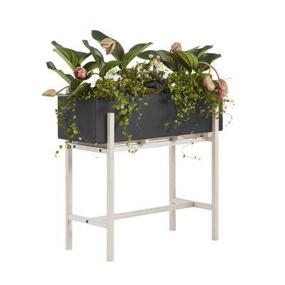 Jardinière sur pieds Botanic Stand / 70 x 29 x H 59 cm - Design House Stockholm noir en métal