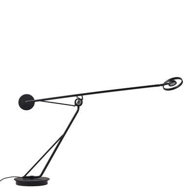 Lampe de table Aaro LED / L 93 cm - Bras mobile - DCW éditions noir en métal