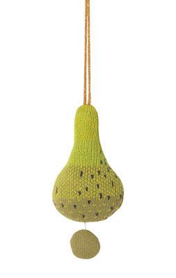 Déco - Pour les enfants - Mobile musical Fruitcana - Poire / Tricoté - Ferm Living - Poire - Coton organique, Polyester