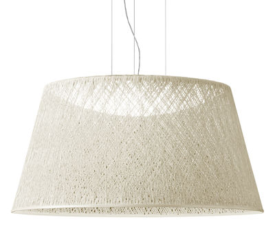 Lighting - Pendant Lighting - Wind Pendant by Vibia - White - Fibreglass, Methacrylate