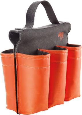 Accessoires - Sacs, trousses, porte-monnaie... - Sacoche à vélo 6 Pack / Pour 6 bouteilles - Donkey - Orange - Toile plastifiée