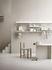 Scaffale String System - / Metallo traforato, bordo alto - L 78 x P 20 cm di String Furniture