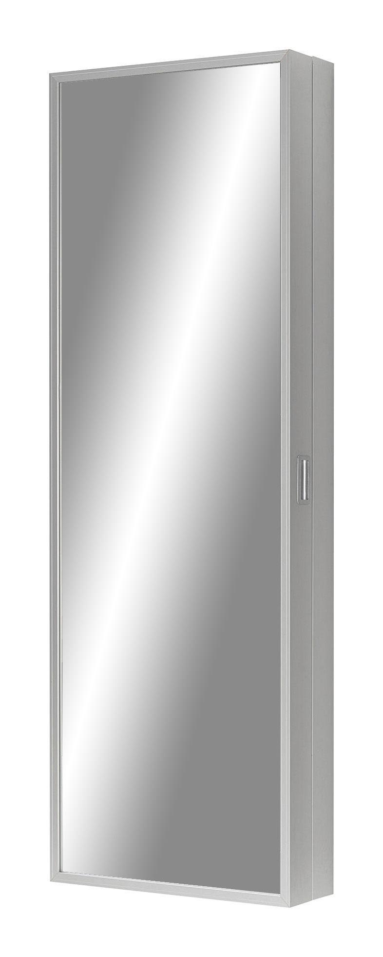 Möbel - Aufbewahrungsmöbel - Duty Box Schrank - Kristalia - Aluminium -Spiegel - eloxiertes Aluminium, Spiegel-Finish
