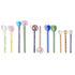 Mono Spoon - / Glass - Set of 2 - L 15 cm by Hay