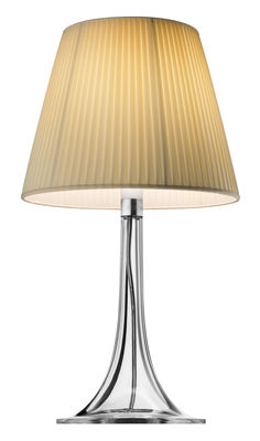 Lighting - Table Lamps - Miss K Table lamp by Flos - Fabric lampshade - Fabric, PMMA