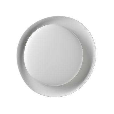 Lighting - Wall Lights - Bahia Mini My Light Wall light - / LED - Bluetooth / 55 x 53 cm by Foscarini - White - Polycarbonate