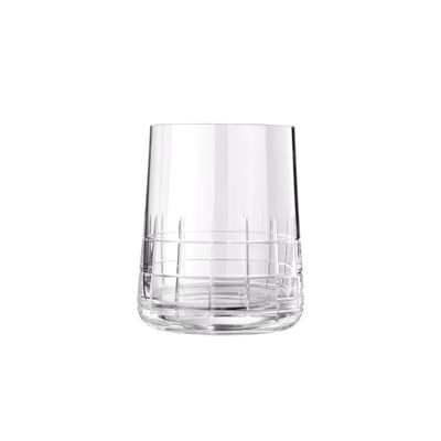 Tableware - Wine Glasses & Glassware - Graphik Water cup - / Hand-blown crystal by Christofle - Transparent - Mouth blown crystal