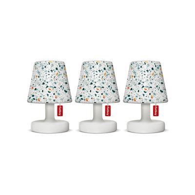 Abat-jour Mini Cappie / Set de 3 - Pour lampes Edison the Mini - Fatboy blanc en matière plastique