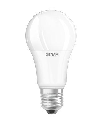 Ampoule LED E27 avec radiateur / Standard dépolie - 14W=100W (2700K, blanc chaud) - Osram blanc en verre