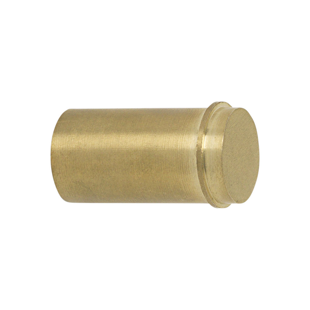 Furniture - Coat Racks & Pegs - Laiton Small Hook - / Handle - Ø 2 cm by Ferm Living - Golden brass - Brass
