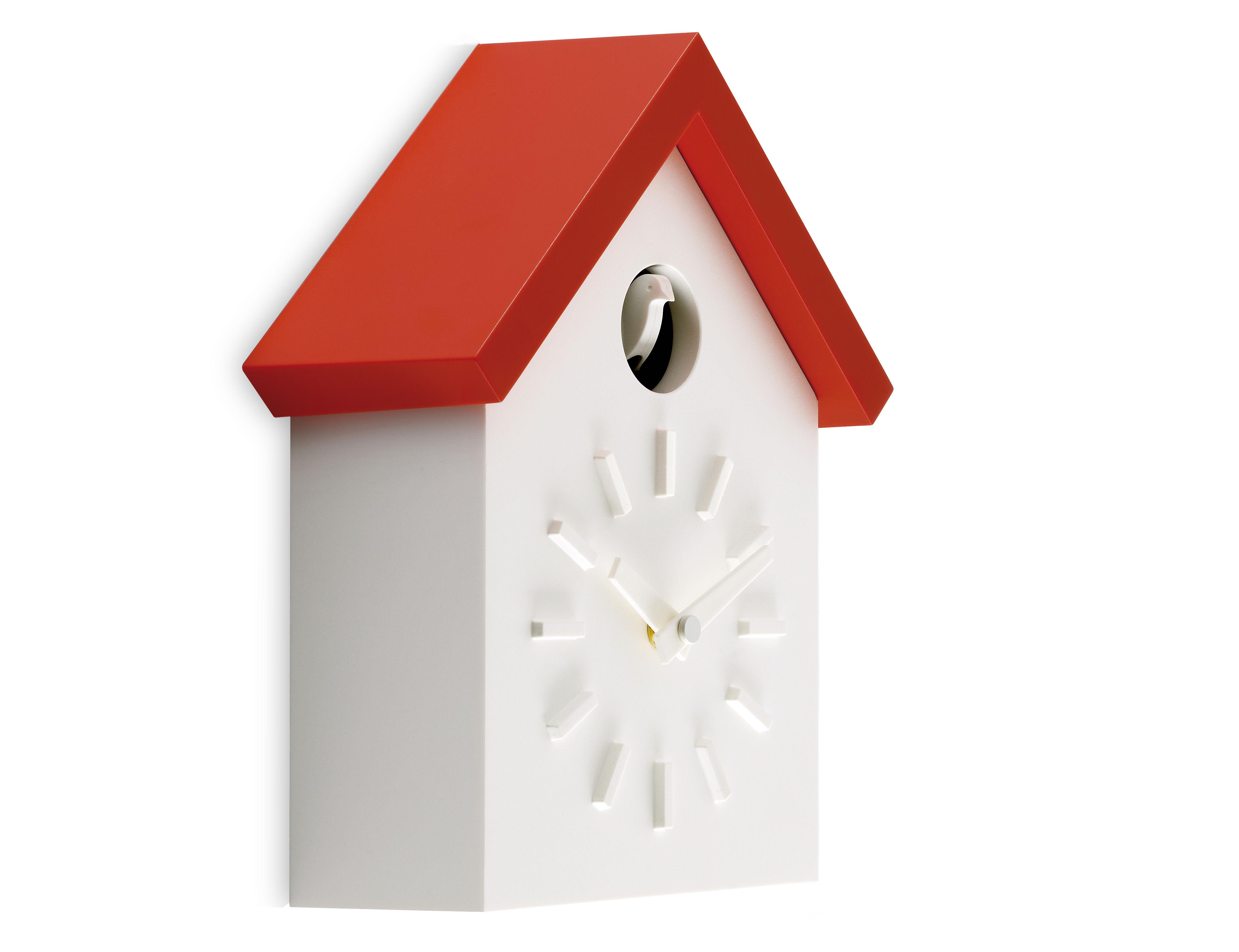 Déco - Horloges  - Horloge murale Cu-Clock à coucou - Magis - Orange - ABS
