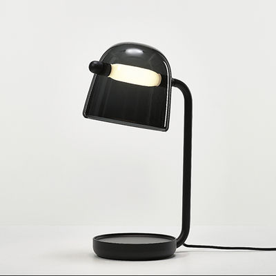 Image of Lampada da tavolo Mona - / Vetro di Brokis - Nero - Vetro