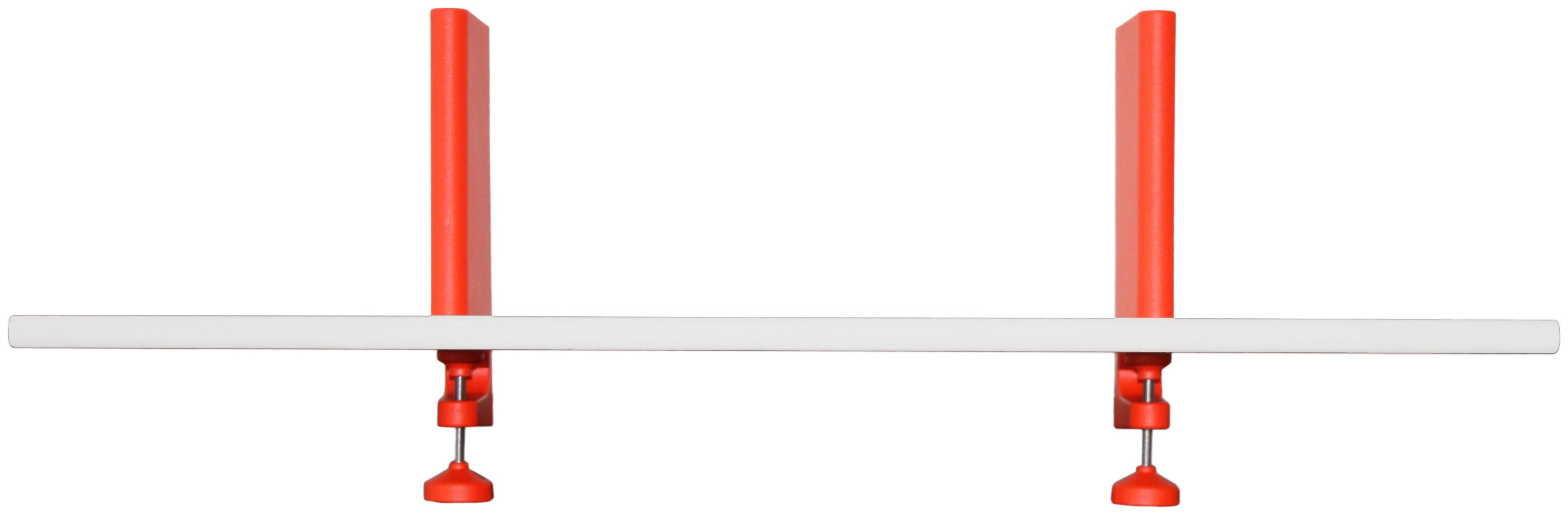 Möbel - Regale und Bücherregale - Spike - The Wild Bunch Regal / L 120 cm - Magis - Stahl, weiß - gefirnister Stahl