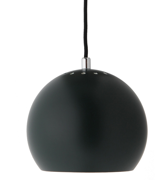 Luminaire - Suspensions - Suspension Ball Small / Ø 18 cm - Réédition 1968 - Frandsen - Vert sapin mat - Métal peint
