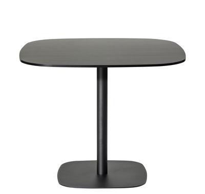 Table basse Nobis 60x60 cm / H 56 cm - Offecct noir en bois