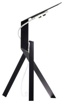 Lighting - Table Lamps - Jetzt Table lamp by Ingo Maurer - Black - Aluminium
