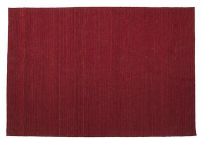 Tapis Natural Nomad en laine afghane - 170 x 240 cm - Nanimarquina rouge en tissu