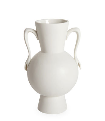 Déco - Vases - Vase Eve Urn / Anses en forme de mains - Jonathan Adler - Blanc - Porcelaine