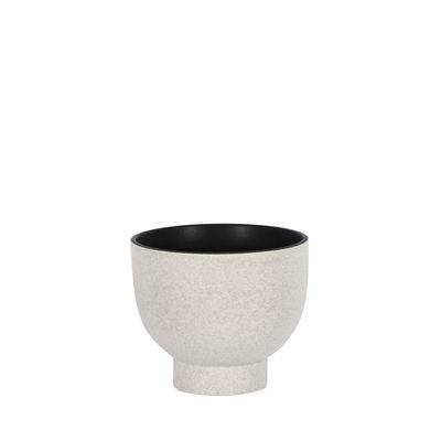 Image of Vaso Tenere Small - / Ø 19 x H 16 cm - Ceramica di ENOstudio - Bianco - Ceramica