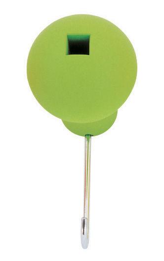 Möbel - Garderoben und Kleiderhaken - Globo Wandhaken - Magis - Grün - Polypropylen, rostfreier Stahl