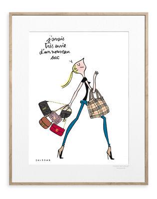 Déco - Stickers, papiers peints & posters - Affiche Soledad - Envie de noir / 30 x 40 cm - Image Republic - Envie de noir - Papier