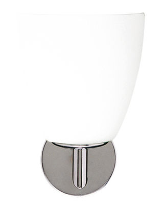 Applique 006/1 - Fontana Arte blanc en métal