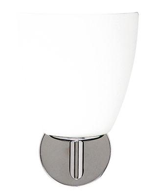 Applique 006/1 - Fontana Arte blanc en métal/verre