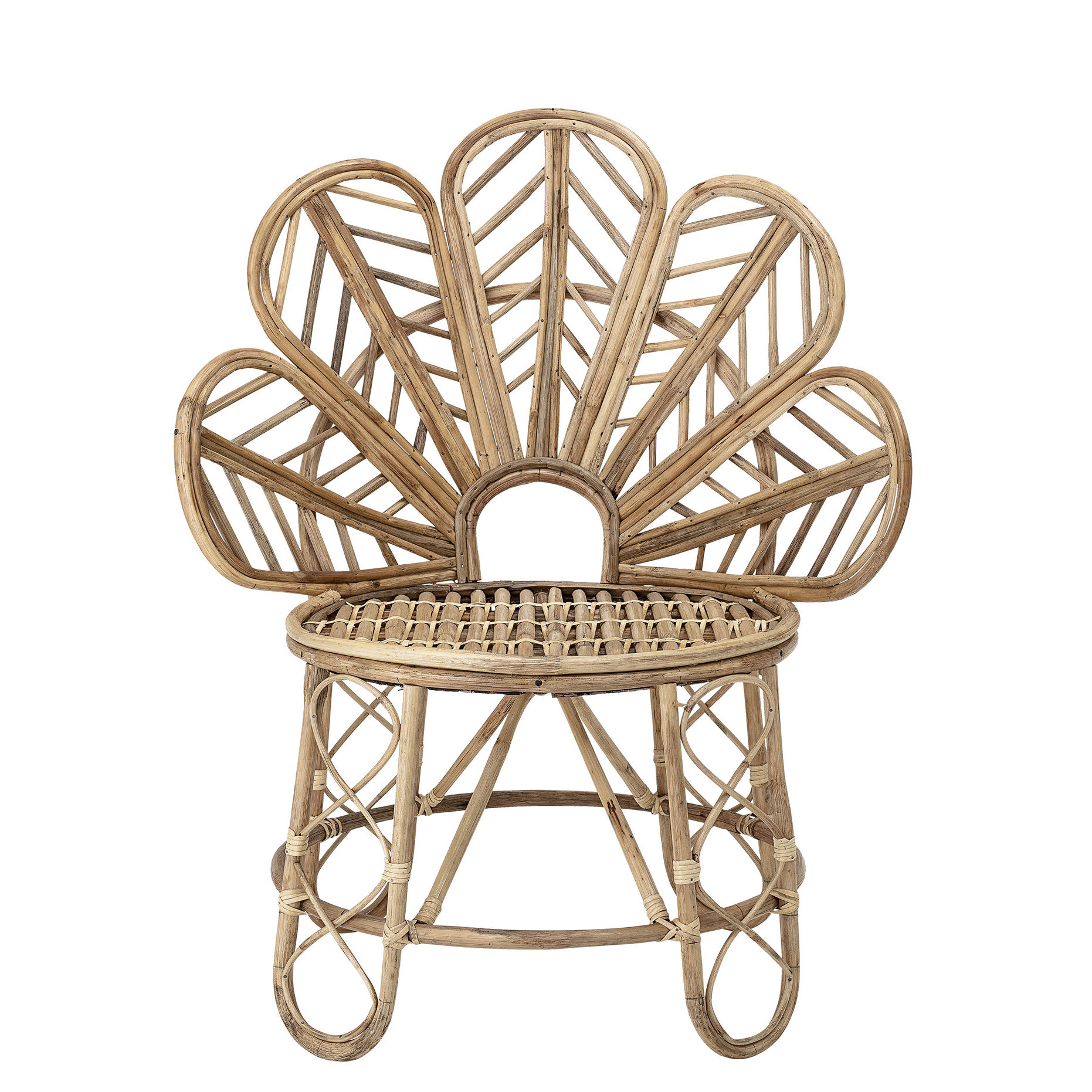 Furniture - Armchairs - Emmy Armchair - / Rattan by Bloomingville - Natural - Rattan