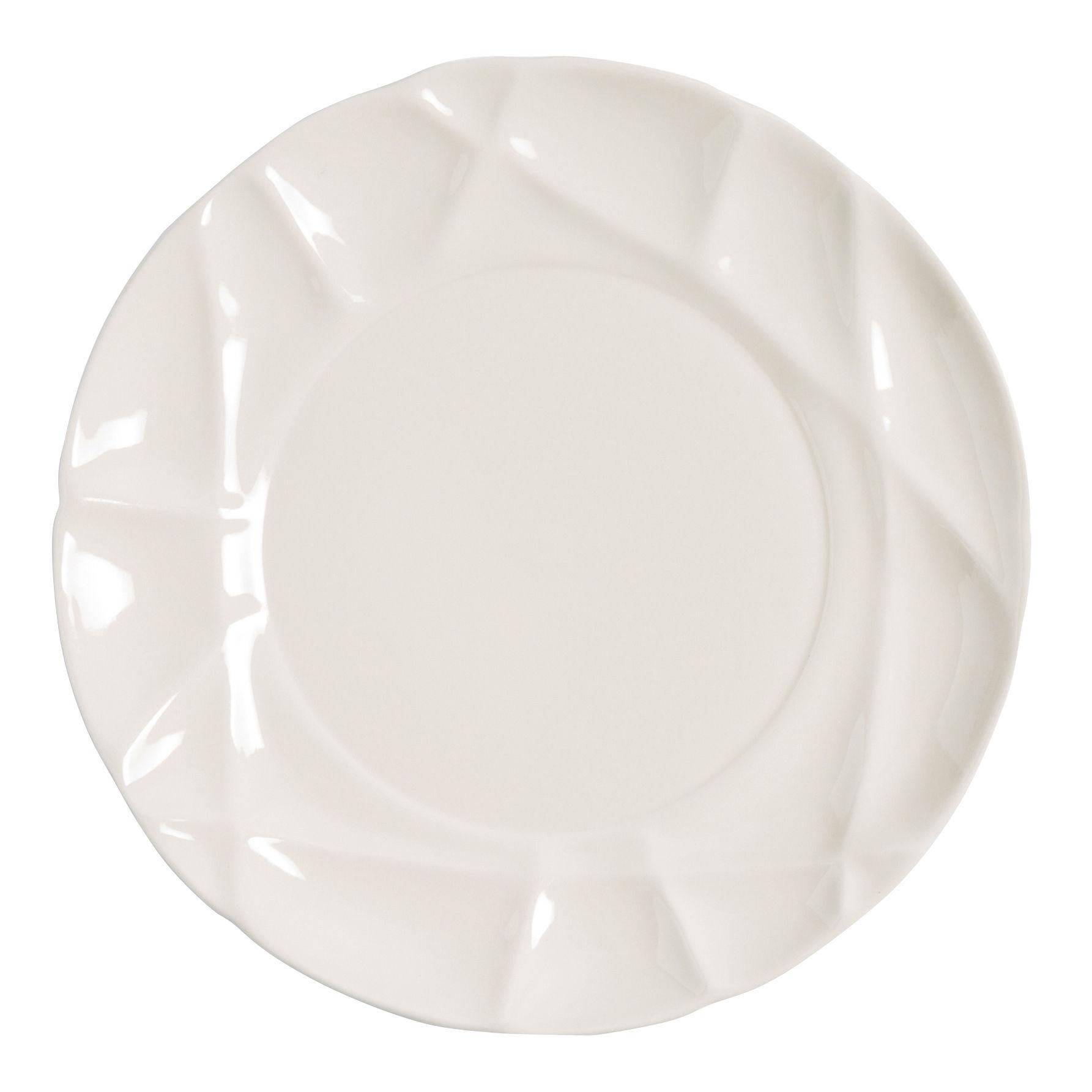 Arts de la table - Assiettes - Assiette Succession / Ø 26 cm - Porcelaine - Fait main - Petite Friture - Blanc - Porcelaine