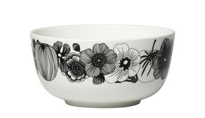 Tableware - Bowls - Siirtolapuutarha Bowl - / Ø 16 cm by Marimekko - Siirtolapuutarha / Black & white - Sandstone
