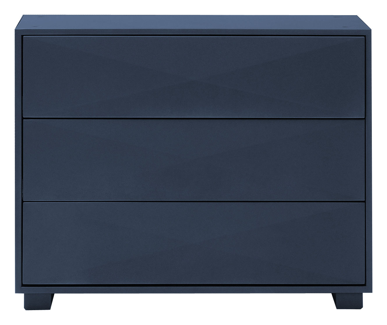 Furniture - Dressers & Storage Units - Diamant Chest of drawers - Chest of drawers by Tolix - Dark blue - Lacquered steel