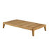 Synthesis Coffee table - / 85 x 155 cm - Teak by Unopiu
