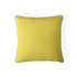 Pompidou Quatrefoil Cushion - / 40 x 40 cm - Linen & satin embroidery by Jonathan Adler