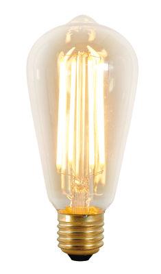 Lighting - Light Bulb & Accessories - Squirrel Cage Filament LED bulb E27 - 4 W E27 by Original BTC - Transparent / Gold - Glass, Metal