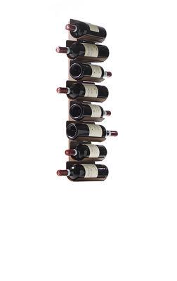 Tischkultur - Bar, Wein und Apéritif - Ptolomeo Vino Flaschenhalter / Wandregal - H 75 cm - Opinion Ciatti - Rostbraun - lackiertes Metall