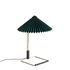 Lampada da tavolo Matin Small - / LED - H 38 cm - Tessuto & metallo di Hay