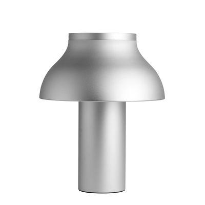 Luminaire - Lampes de table - Lampe de table PC Large / H 50 cm - Aluminium - Hay - Aluminium anodisé - Aluminium anodisé