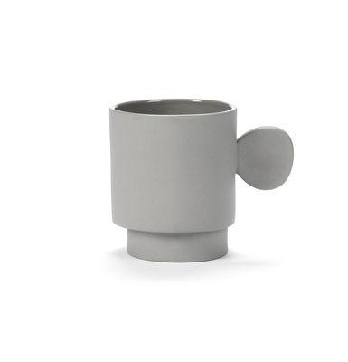 Mug Inner Circle / 35 cl - Grès - valerie objects gris en céramique