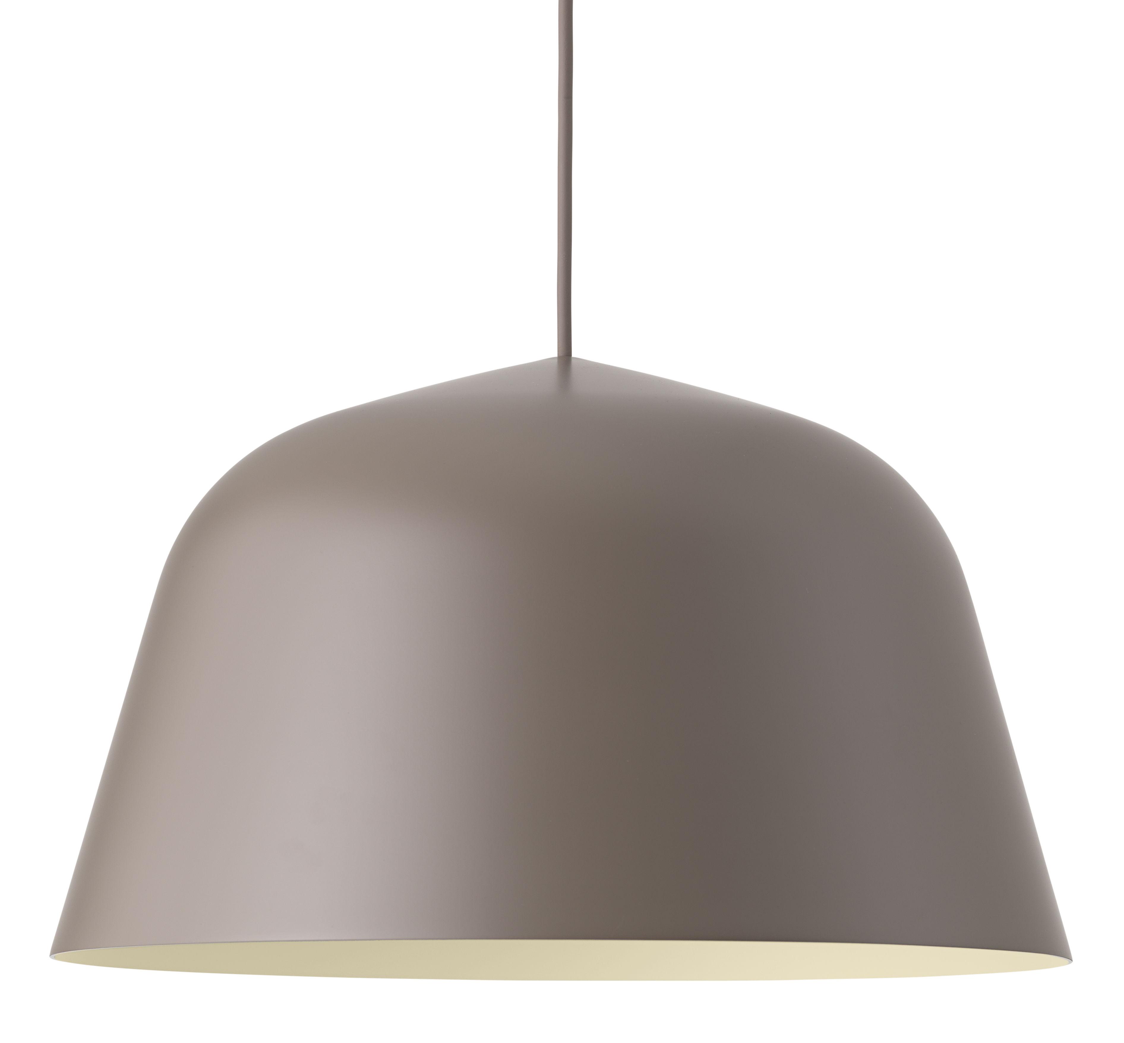 Lighting - Pendant Lighting - Ambit Pendant - / Ø 40 cm by Muuto - Taupe - Aluminium