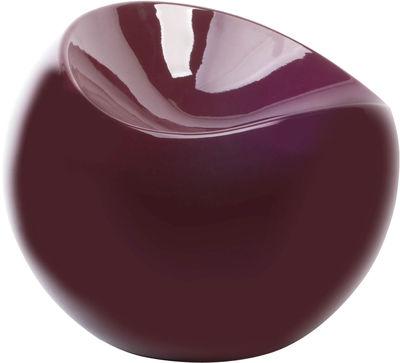 Arredamento - Mobili Ados  - Pouf Ball Chair di XL Boom - Bordeaux - ABS riciclato